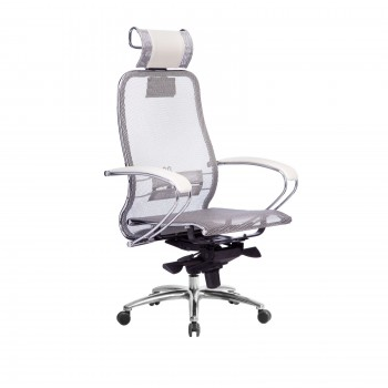 Кресло Samurai S-2.04 сетка, белый лебедь - оптово-розничная продажа