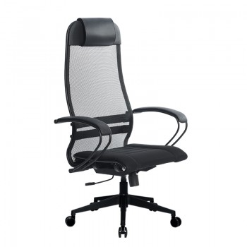 Кресло Samurai Ultra SU-1-BP 0 черный, сетка/ткань, крестовина пластик Pl-2 - оптово-розничная продажа