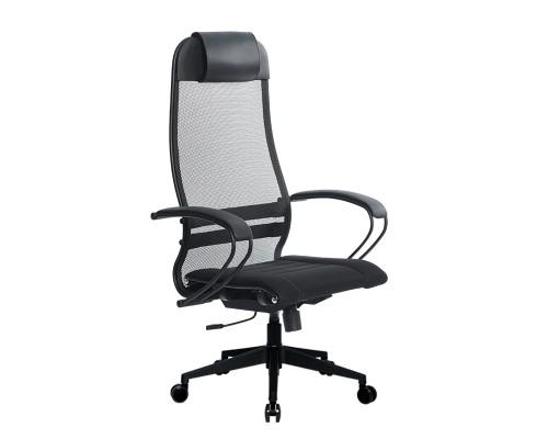 Кресло Samurai Ultra SU-1-BP 0 черный, сетка/ткань, крестовина пластик Pl-2
