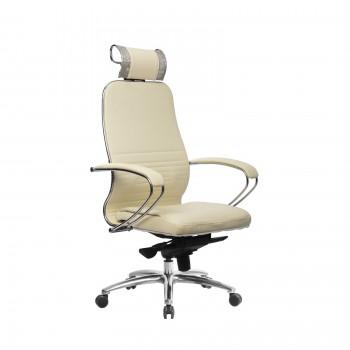Кресло Samurai KL-2.04 кожа, бежевый - оптово-розничная продажа
