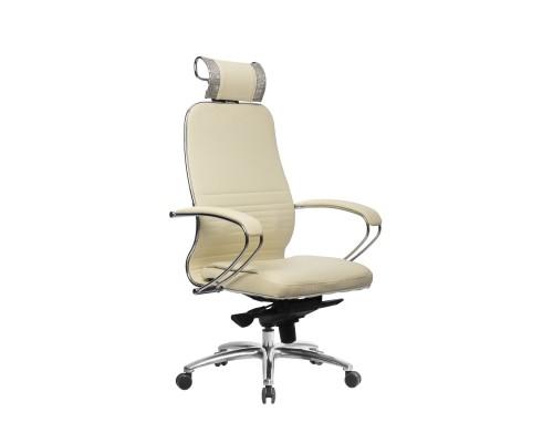 Кресло Samurai KL-2.04 кожа, бежевый