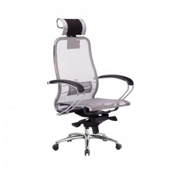 Кресло Samurai S-2.04 сетка, серый - оптово-розничная продажа