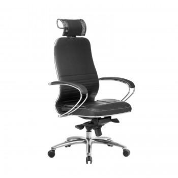 Кресло Samurai KL-2.04 кожа, черный - оптово-розничная продажа