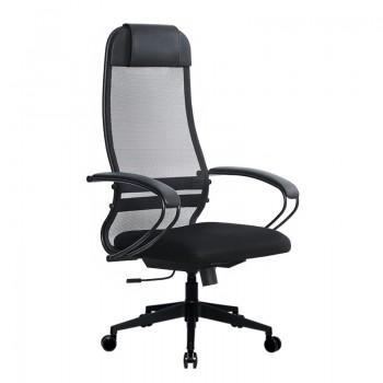 Кресло Samurai Ultra SU-1-BP 11 темно-серый, сетка/ткань, крестовина пластик Pl-2 - оптово-розничная продажа