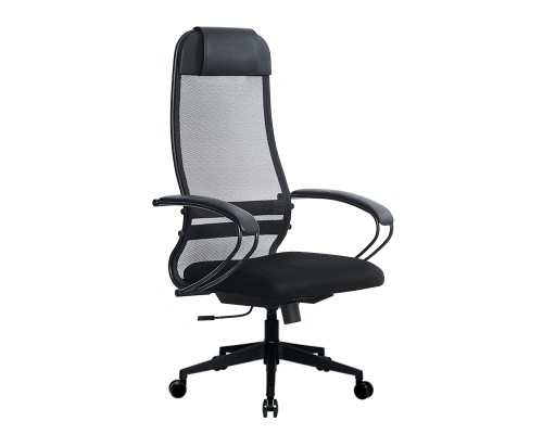 Кресло Samurai Ultra SU-1-BP 11 темно-серый, сетка/ткань, крестовина пластик Pl-2