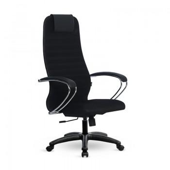 Кресло Samurai Slim S-BK 10 черный, сетка/ткань, крестовина пластик Pl - оптово-розничная продажа