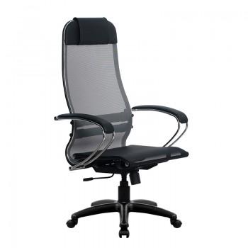 Кресло Samurai Ultra SU-1-BK 4 PL серый, сетка - оптово-розничная продажа