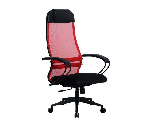 Кресло Samurai Ultra SU-1-BP 11 красный, сетка/ткань, крестовина пластик Pl-2