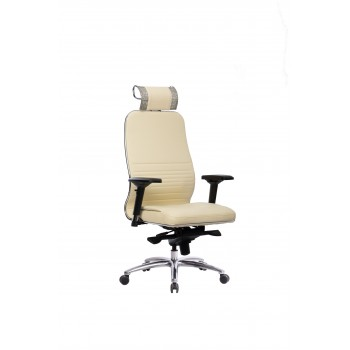 Кресло Samurai KL-3.04 кожа, бежевый - оптово-розничная продажа