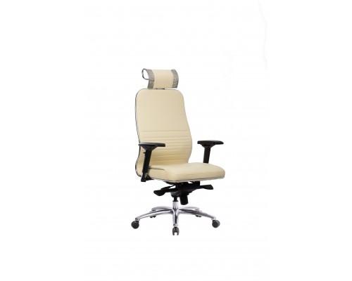 Кресло Samurai KL-3.04 кожа, бежевый