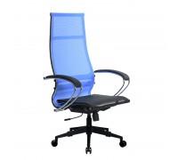 Кресло Samurai Ultra SK-1-BK 7 PL-2 синий, сетка