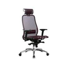 Кресло Samurai S-3.04 сетка, темно-бордовый