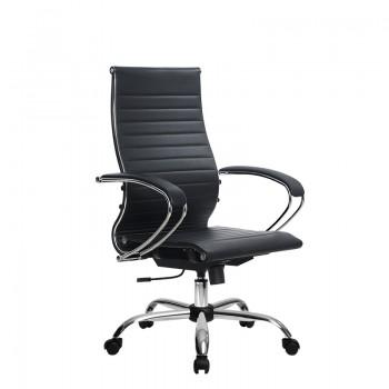 Кресло Samurai Ultra SK-2-BK 10 CH черный, кожа NewLeather - оптово-розничная продажа