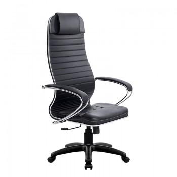 Кресло Samurai Ultra SU-1-BK 6 PL черный, кожа NewLeather - оптово-розничная продажа