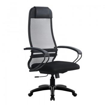 Кресло Samurai Ultra SU-1-BP 11 темно-серый, сетка/ткань, крестовина пластик Pl - оптово-розничная продажа