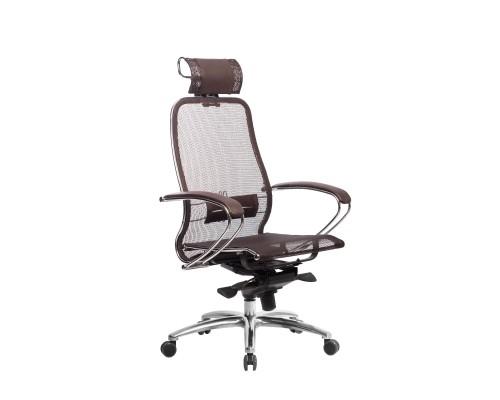 Кресло Samurai S-2.04 сетка, коричневый