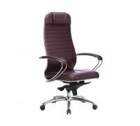 Кресло Samurai KL-1.04 кожа, темно-бордовый