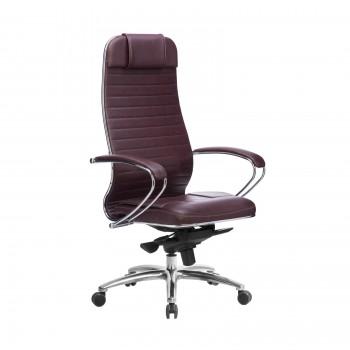 Кресло Samurai KL-1.04 кожа, темно-бордовый - оптово-розничная продажа