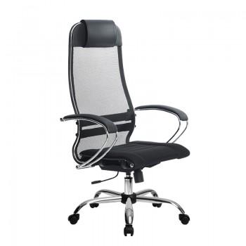Кресло Samurai Ultra SU-1-BK 3 CH черный, ткань/сетка - оптово-розничная продажа