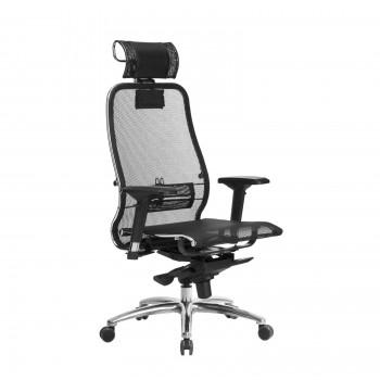 Кресло Samurai S-3.04 сетка, черный - оптово-розничная продажа