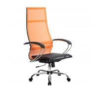 Кресло Samurai Ultra SK-1-BK 7 CH оранжевый, сетка