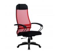 Кресло Samurai Ultra SU-1-BP 11 красный, сетка/ткань, крестовина пластик Pl