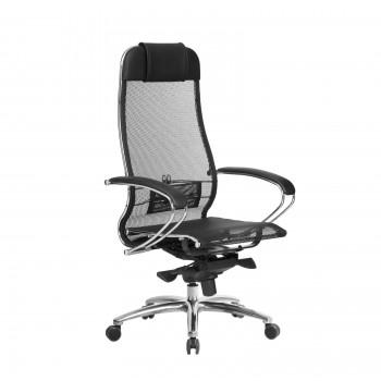 Кресло Samurai S-1.04 сетка, черный - оптово-розничная продажа