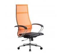 Кресло Samurai Ultra SK-1-BK 7 CH-2 оранжевый, сетка