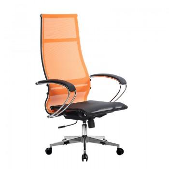 Кресло Samurai Ultra SK-1-BK 7 CH-2 оранжевый, сетка - оптово-розничная продажа