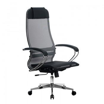Кресло Samurai Ultra SU-1-BK 4 CH-2 серый, сетка - оптово-розничная продажа