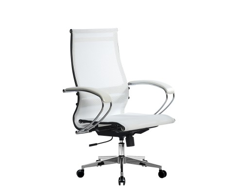 Кресло Samurai Ultra SK-2-BK 9 CH-2 белый, сетка