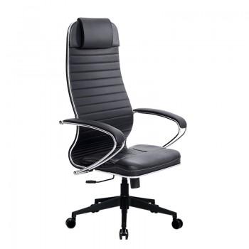 Кресло Samurai Ultra SU-1-BK 6 PL-2 черный, кожа NewLeather - оптово-розничная продажа