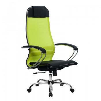 Кресло Samurai Ultra SU-1-BK 4 CH лайм, сетка - оптово-розничная продажа