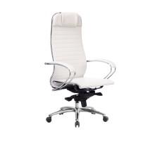 Кресло Samurai K-1.04 кожа, белый лебедь