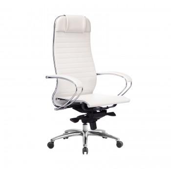 Кресло Samurai K-1.04 кожа, белый лебедь - оптово-розничная продажа