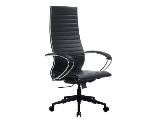 Кресло Samurai Ultra SK-1-BK 8 PL-2 черный, кожа NewLeather