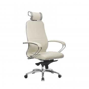 Кресло Samurai KL-2.04 кожа, белый лебедь - оптово-розничная продажа