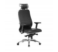 Кресло Samurai KL-3.04 кожа, черный