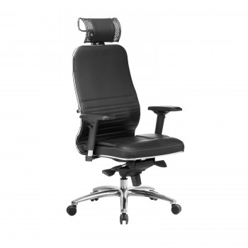 Кресло Samurai KL-3.04 кожа, черный - оптово-розничная продажа