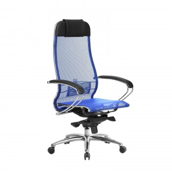 Кресло Samurai S-1.04 сетка, синий - оптово-розничная продажа