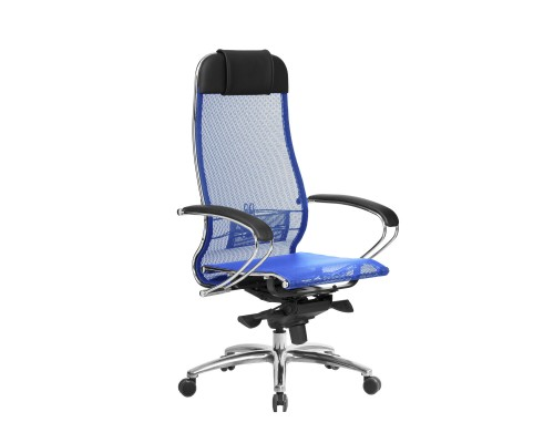 Кресло Samurai S-1.04 сетка, синий