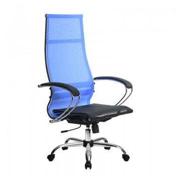 Кресло Samurai Ultra SK-1-BK 7 CH синий, сетка - оптово-розничная продажа