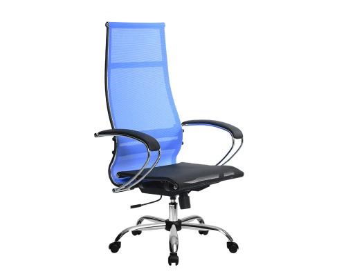 Кресло Samurai Ultra SK-1-BK 7 CH синий, сетка