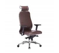 Кресло Samurai KL-3.04 кожа, темно-коричневый