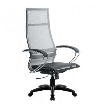 Кресло Samurai Ultra SK-1-BK 7 PL серый, сетка - оптово-розничная продажа