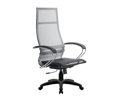 Кресло Samurai Ultra SK-1-BK 7 PL серый, сетка