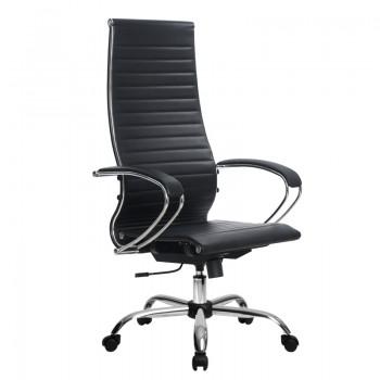 Кресло Samurai Ultra SK-1-BK 8 CH черный, кожа NewLeather - оптово-розничная продажа
