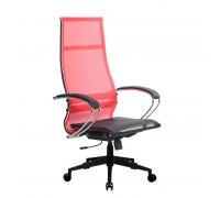Кресло Samurai Ultra SK-1-BK 7 PL-2 красный, сетка