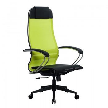 Кресло Samurai Ultra SU-1-BK 4 PL-2 желтый, сетка - оптово-розничная продажа